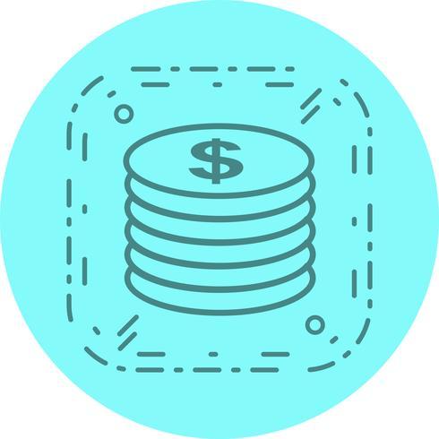 Diseño de iconos de monedas