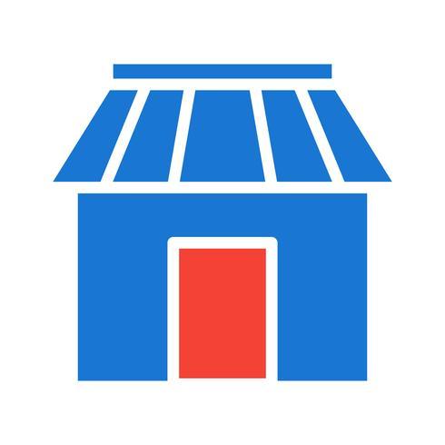 Shop Icon Design vector