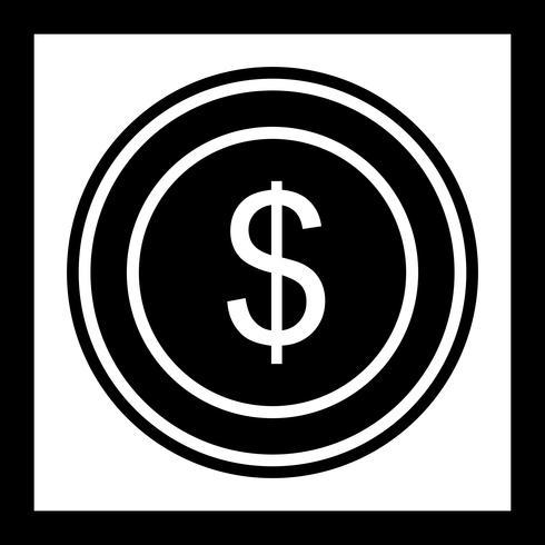 Design de ícone de moeda de dólares
