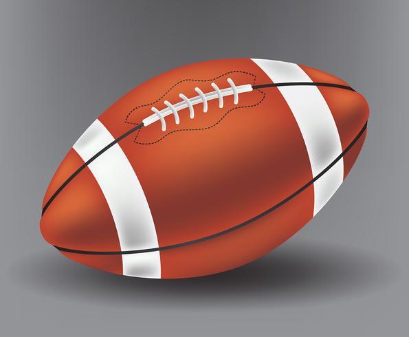 Realistic Football vector