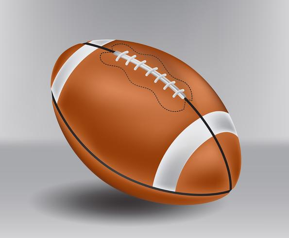 Realistic Football vector