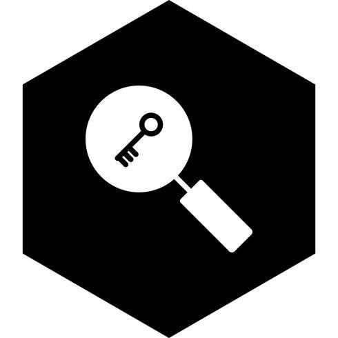 Keyword Search Icon Design