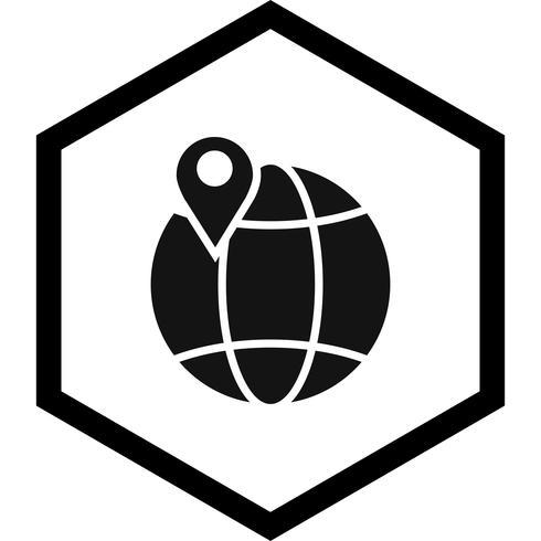 Globe Icon Design vector