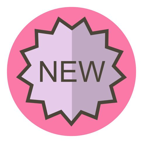 New Icon Design vector