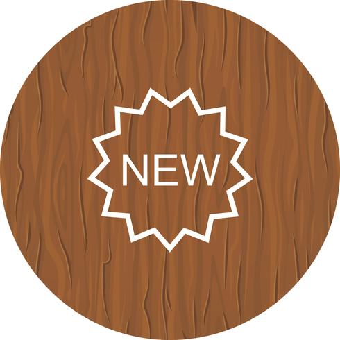 New Icon Design vector