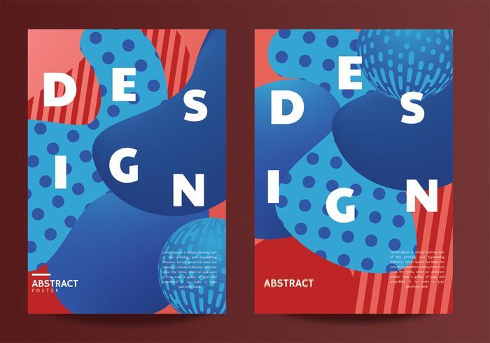 Abstract posterontwerp vector