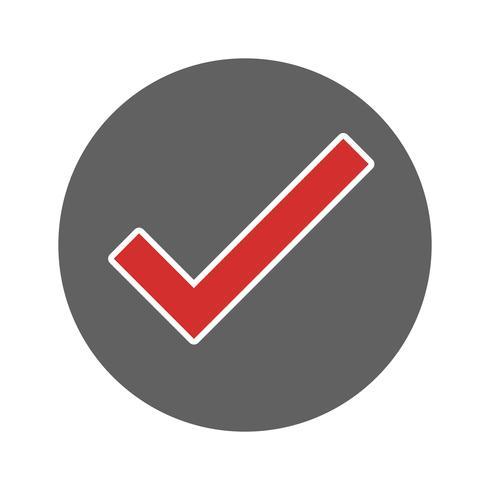 Valid Icon Design vector