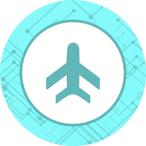 Vliegtuig pictogram ontwerp