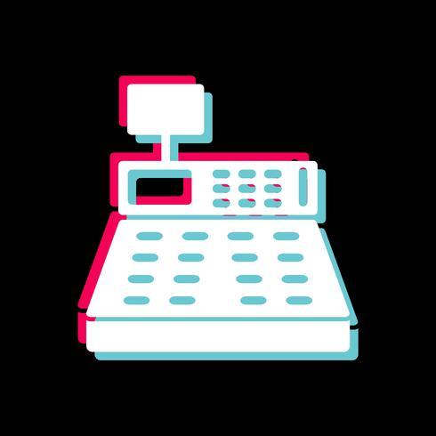 Cash Counter Icon Design vector
