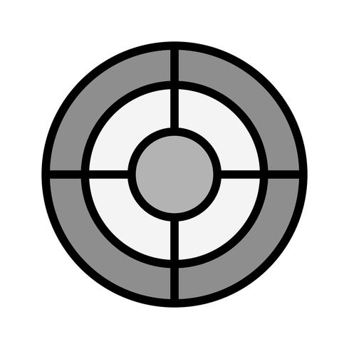 Target Icon Design vector