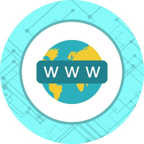 Web Search Icon Design vector