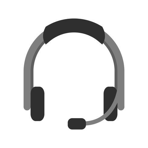 Hoofdtelefoon pictogram ontwerp