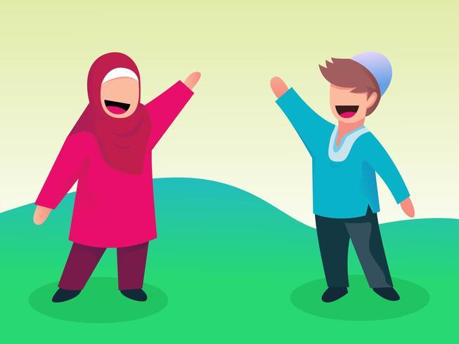 Cute Muslim Children