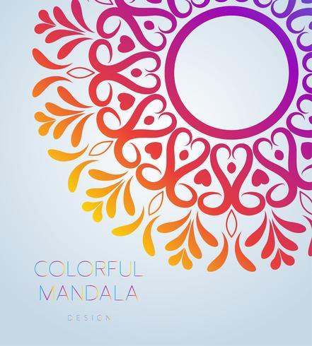 El mandala ornamental del vector inspiró el arte étnico, Paisley indio modelado. Dibujado a mano ilustración Elemento de invitación. Tatuaje, astrología, alquimia, boho y símbolo mágico.