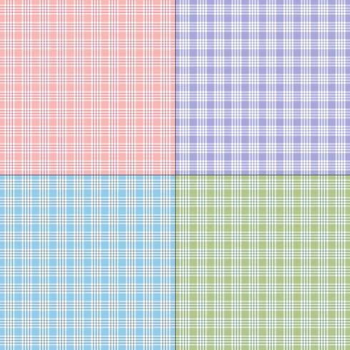 twill pastel vector plaids