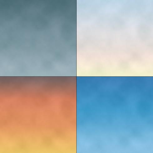 fundos de céu nublado gradiente
