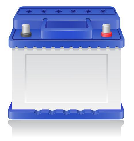 bilbatteri vektor illustration