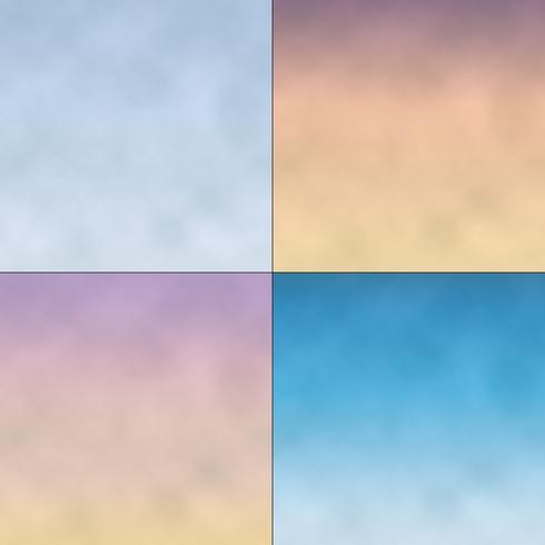 gradient sky backgrounds vector