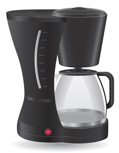 kaffebryggare vektor illustration