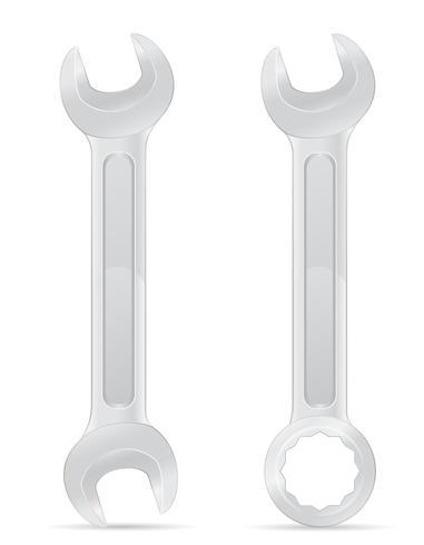 tool spanner vector illustration