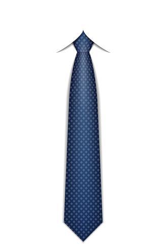 tie for men a suit vector illustration