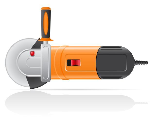 ilustração em vetor elétrica rebarbadora
