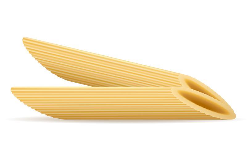 ilustración vectorial de pasta