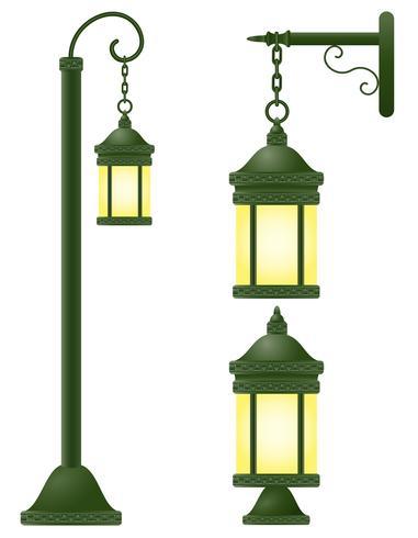 streetlight vector illustration