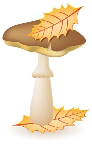 ingrassatori di funghi illustrazione vettoriale