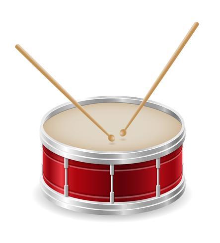 illustrazione di stock di strumenti musicali di tamburo