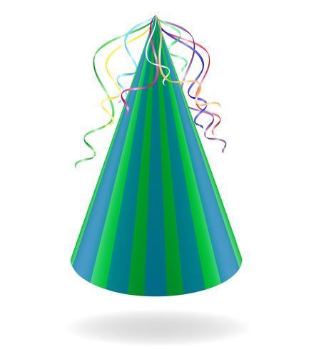 casquette pour les anniversaires vector illustration