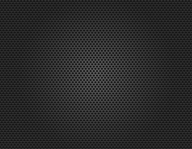Fondo de textura de rejilla de altavoz acústico vector