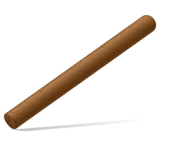 Ilustración de vector de cigarro