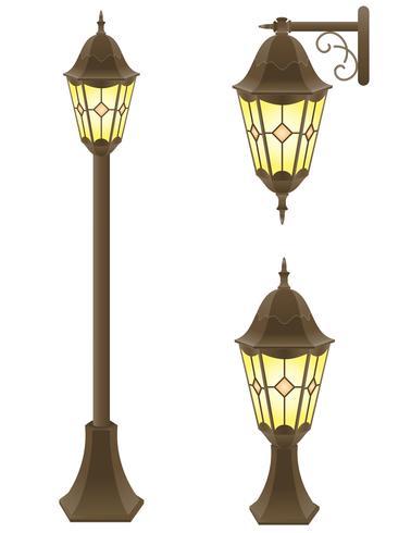 streetlight vektor illustration