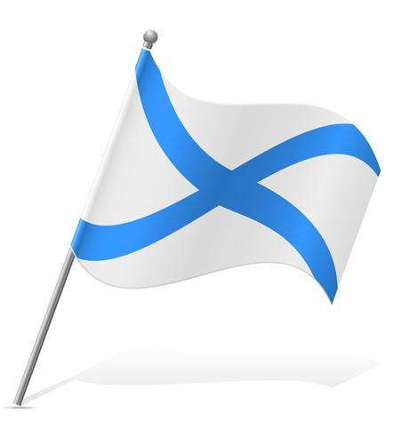 bandera ilustración vectorial de Escocia