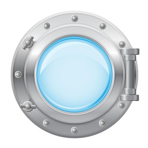 Ilustración de vector de ojo de buey de barco