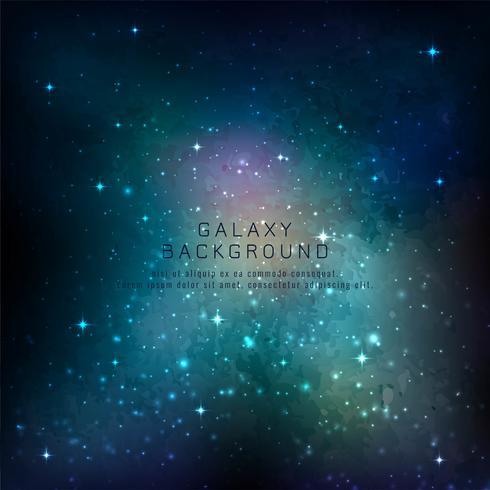 Projeto de plano de fundo abstrato galáxia