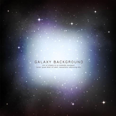 Abstract galaxy background design