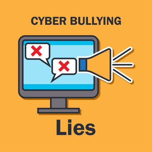 Acoso cibernético en internet para el concepto de acoso cibernético