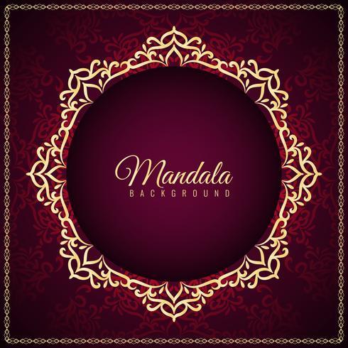 Abstrakter stilvoller Mandalahintergrund