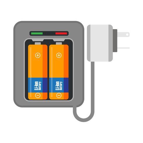 elektrische batterijlading en alkalinebatterij op batterijen voor energie-elementen