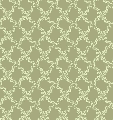 Floral geometric pattern. retro oriental flourish ornament.