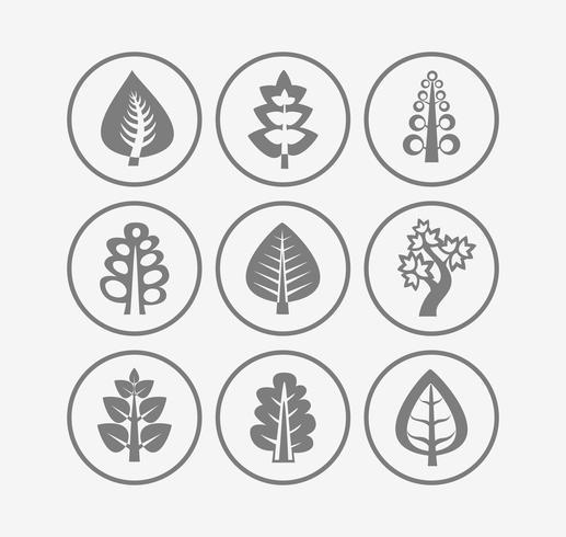 Icônes d'arbres