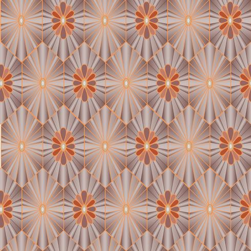 Floral seamless pattern. Oriental texture. Flower ornament vector