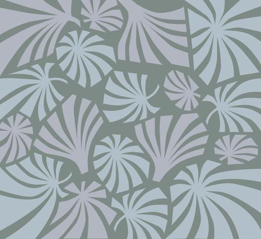 Tropcal leaves seamless pattern. Beautiful floral leaf background. vector