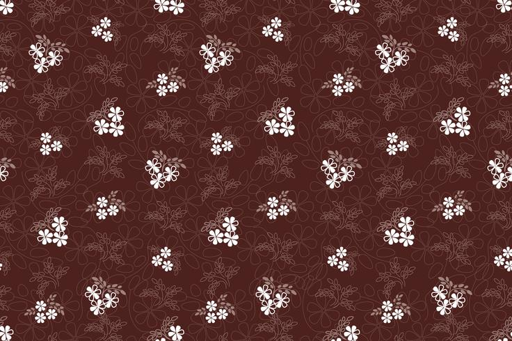 Floral seamless pattern. Flower background. garden texture