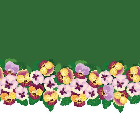 Floral pattern sans soudure. Fond de fleurs. Texture de jardin Bloom vecteur