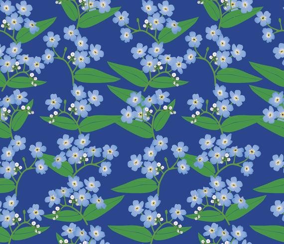 Abstraktes nahtloses mit Blumenmuster. Blumenfrühlingshintergrund.
