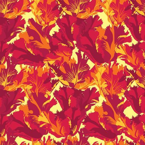 Abstracte bloem bloemblad naadloze patroon. Gestructureerde achtergrond