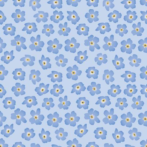 Resumen patrón floral sin fisuras. Fondo de flor de primavera. vector